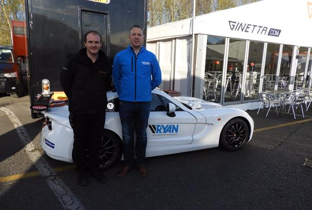 Ginetta and Ryan Motorsport Insurance Partnership for at least three years