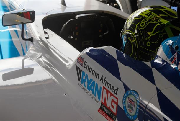 Enaam Ahmed leads 2016 Britsh F3 Championship after 1st Race Meeting